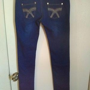 Denim - Navy blue jeans